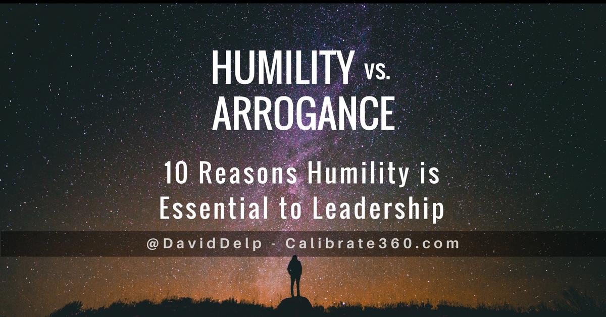 Humility vs. Arrogance