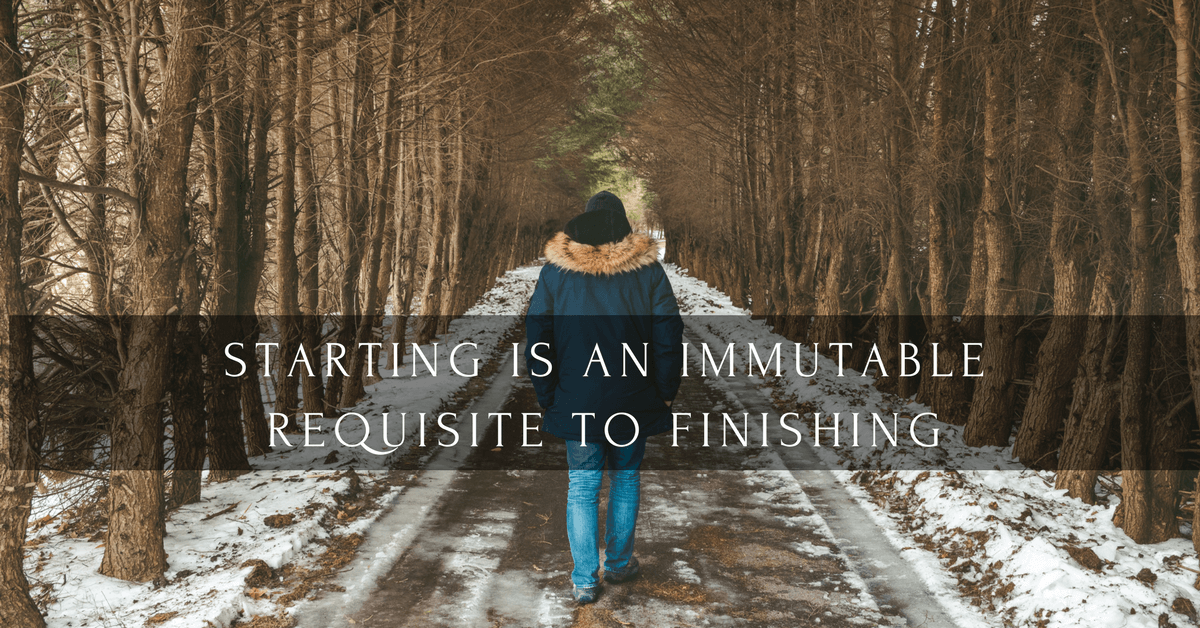 The Power of Starting