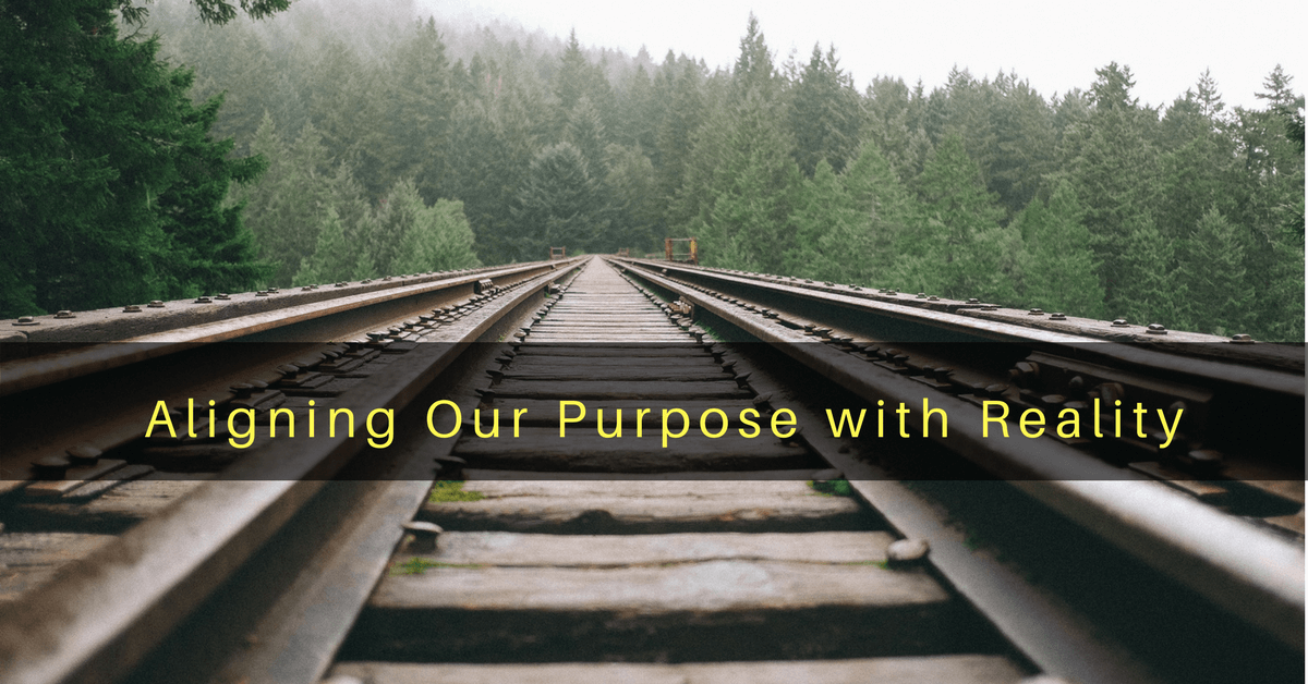 026 – Aligning Our Purpose with Reality