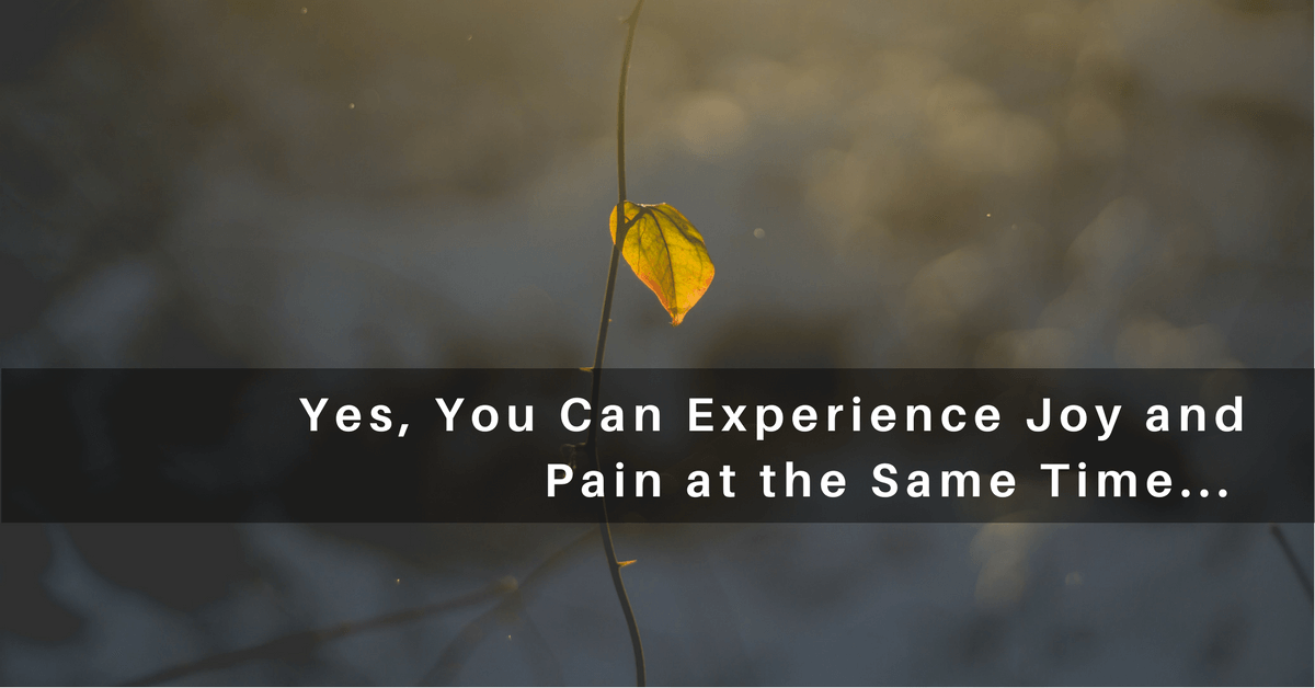 043 – Living Joyfully While Experiencing Pain and Sorrow