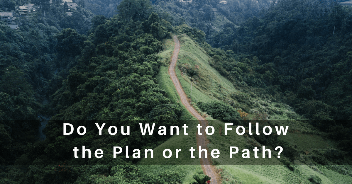 following God's Path and Plan