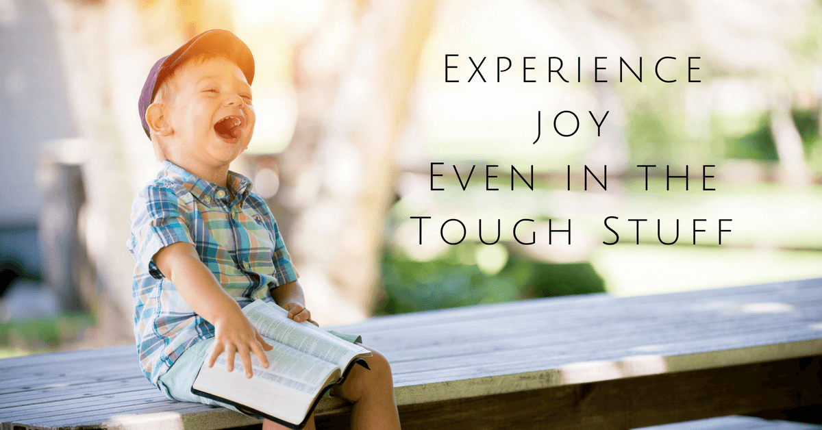 Experience Joy in difficulties